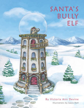 Santa's Bully Elf - Front Cover