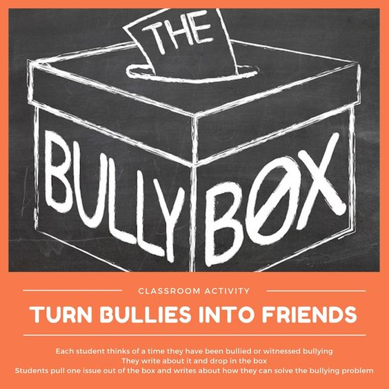 Turn Bullies Into Friends Lesson Plan