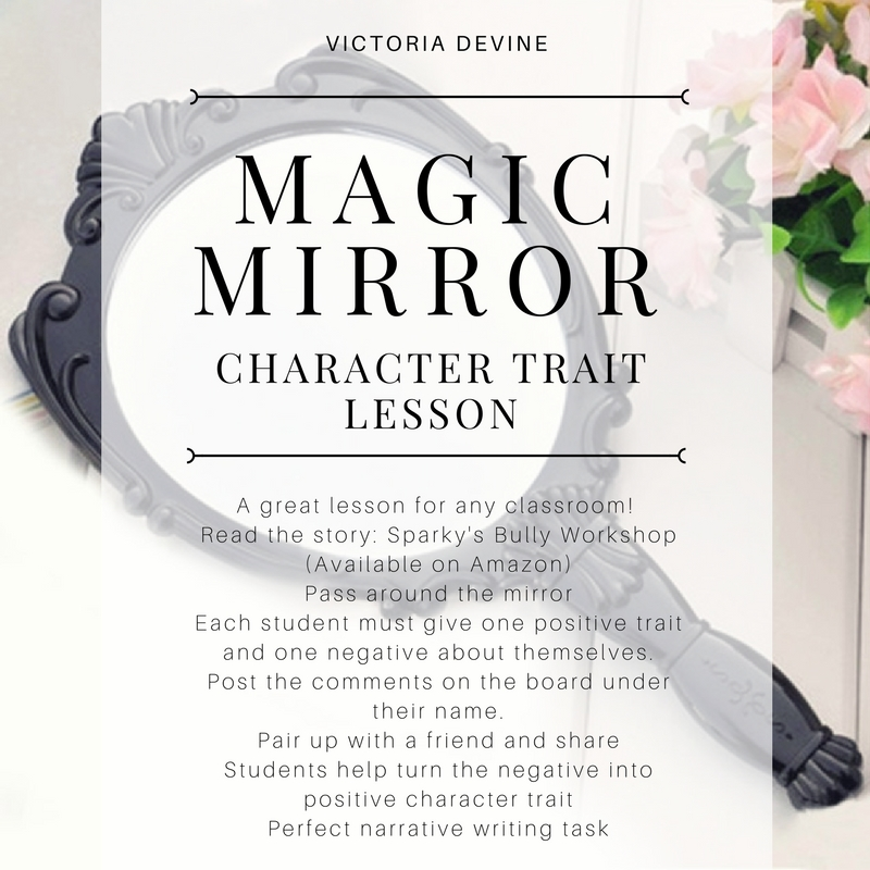 Magic Mirror - Character Trait Lesson Plan