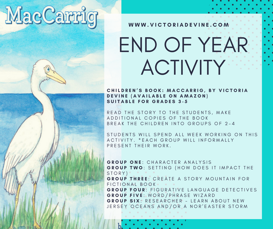 End Of Year Activity Lesson Plan