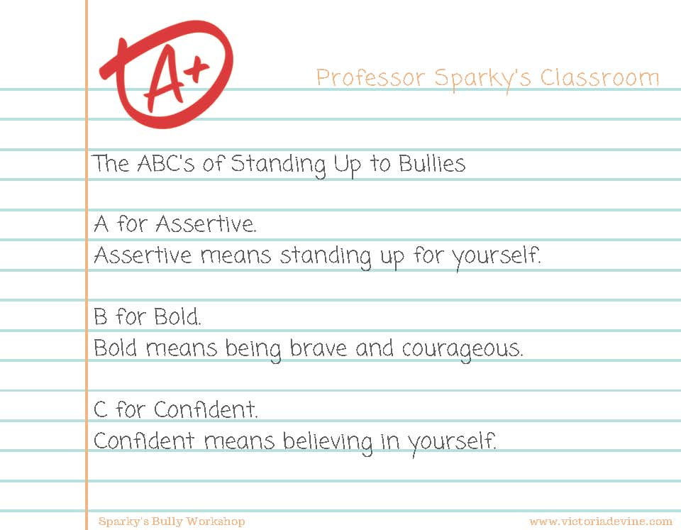 ABC's of Standing Up To Bullies Lesson Plan